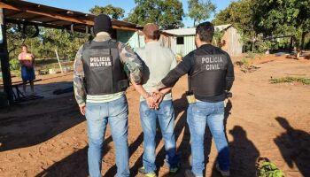Pistoleiro matador de jornalista é preso no MT e mostra identidade de parente morto