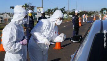 Prefeitura inicia ação em cinco barreiras sanitárias de Campo Grande