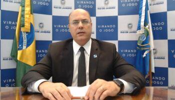 Investigação diz que Witzel está no topo de estrutura que fraudou contratos no Rio