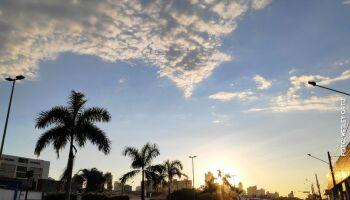 Junho começa com tempo instável, previsão de chuva e mínima de 15°C