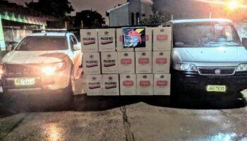 Homem com Van recheada de cigarros morre em troca de tiros com a polícia