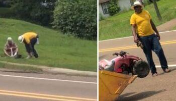 VÍDEO: homem se comove e doa sapatos a morador de rua