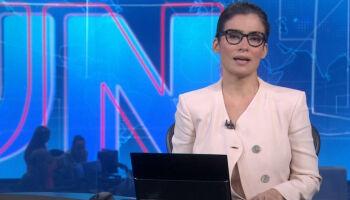 Afastamento de Renata Vasconcellos do Jornal Nacional é por questões pessoais