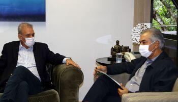 Geraldo desiste de disputar prefeitura de Dourados após apelo de governador