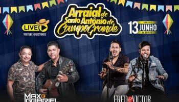 DIFERENTE: tradicional Arraial de Santo Antônio vai ser por live