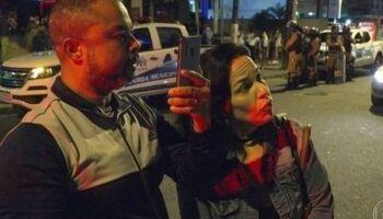 Homem que aparece em vídeo com esposa humilhando fiscal recebeu auxílio emergencial