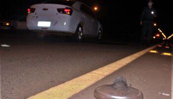 Criança é atropelada após tentar atravessar rodovia de bicicleta