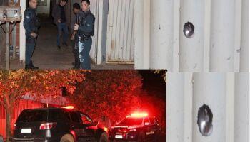 Irmãos são baleados dentro de residência em Chapadão do Sul