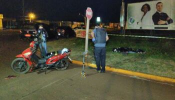 Idoso de 67 anos morre após acidente de moto em Dourados