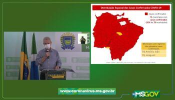 Mais gente infectada: Jaraguari e Antônio João confirmam casos de Covid-19
