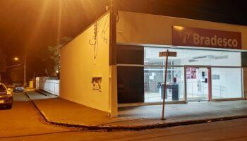 Suspeitos seguem desaparecidos após tentativa de furto a banco em Chapadão do Sul
