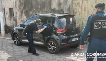 Carro de empresária morta a facada é achado abandonado em Corumbá