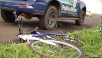 Ciclista é baleado por 'guarda' durante a madrugada na Ernesto Geisel