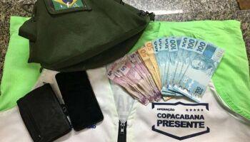 'SUPERAÇÃO': Homem sem as duas mãos é preso por furtar R$ 1.180 de militar no Rio