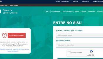 MEC abre inscrições para 2° semestre do Sisu e divulga vagas do Prouni