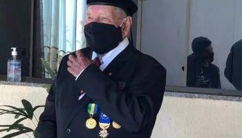 Sobrevivente da 2ª Guerra reclama de isolamento por causa da covid: 'vazio e silêncio'