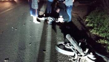 Motociclista tenta atravessar rodovia, é atingido por carro e morre