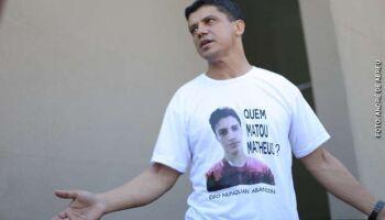 Policial civil é o primeiro a ser julgado pela execução por engano de Matheus Xavier