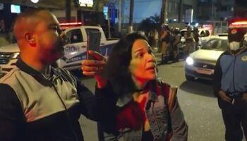 VÍDEO: mulher agride fiscal que tentava reprimir aglomerações em bares