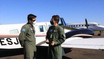 Na luta pela vida, aviões do Estado transportam candidatos a transplante