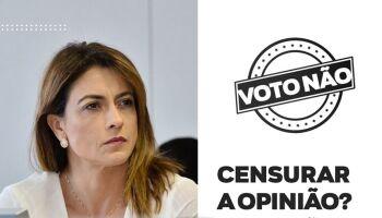 Com assessora investigada por atacar adversários, Soraya faz campanha contra lei das fake news