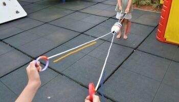 Fundesporte oferece brincadeiras e ensina criançada a fazer brinquedos em live