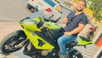 'Jovem de sorriso alegre', dizem amigos na despedida de motociclista