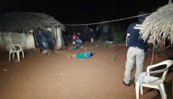 Menino de nove anos é achado morto após ter faca cravada no peito em Douradina
