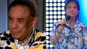 Agnaldo Timóteo diz que guarda mágoas do cantor Roberto Carlos