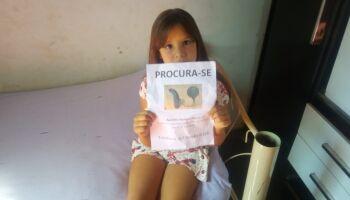 Menina pede ajuda para encontrar aparelho de audição perdido em Campo Grande