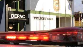 Assaltante tenta fugir de abordagem, troca tiros com a polícia e morre em Campo Grande