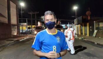 VÍDEO: Marquinhos fiscaliza descontaminação de ruas no Guanandi e defende comércio aberto