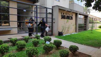 Gaeco deixa edifício com documentos apreendidos em Dourados