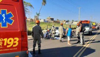 Motorista que atropelou e matou motociclista é preso em flagrante