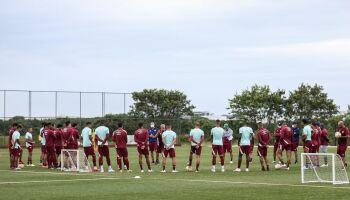 Fluminense tem cinco jogadores com covid-19