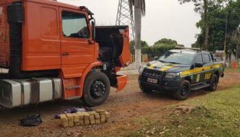 Mula: PRF prende homem com quase 47 kg de pasta base cocaína em Anastácio