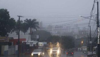 Chuva pode dar as caras já neste sábado e no domingo em Campo Grande