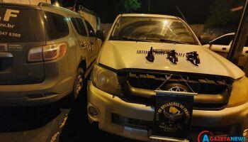 Trio morre ao trocar tiros com policiais do DOF após assalto em Naviraí