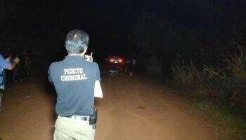 Homem bate moto de frente com caminhonete da patroa e morre na MS-274