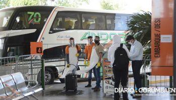 Decreto permite três viagens diárias de ônibus entre Corumbá e Campo Grande