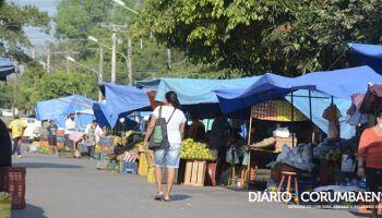 Feiras livres passam a ser realizadas quatro vezes na semana em Corumbá