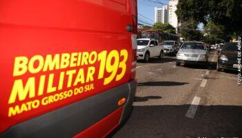 Criança de 2 anos desaparece no Rio Paraguai e bombeiros fazem buscas