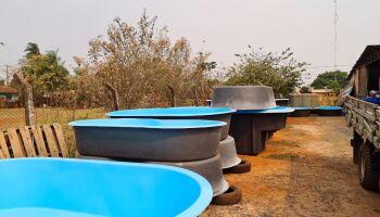 Fábrica de piscinas é interditada e empresário autuado em R$ 5 mil