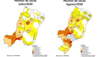 Monitor de Secas registra aumento da área com seca grave em Mato Grosso do Sul em agosto