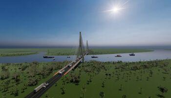 Governo de MS divulga empresa que fará projeto do acesso à ponte do rio Paraguai
