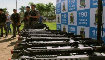 Governo investe R$ 5,4 milhões em munições para a Polícia Civil e Militar