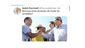 NA LATA: de surpresa, Puccinelli ameaça rasteira em Márcio Fernandes