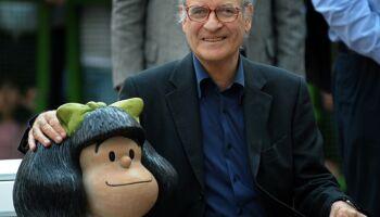 Quino, cartunista que criou Mafalda, morre aos 88 anos