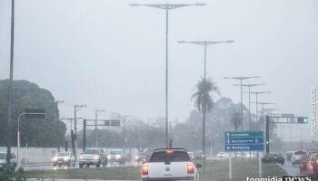 Campo Grande e 29 cidades recebem alerta de tempestades nesta segunda-feira