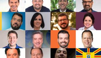 Candidatos à Prefeitura: pleito é dominado por homens com ensino superior